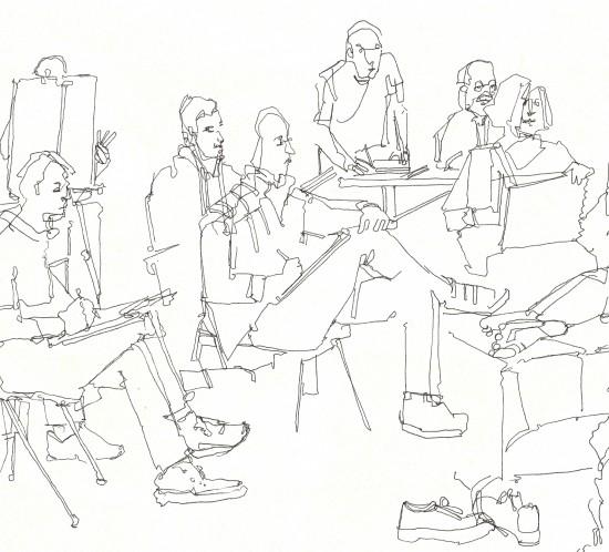 People Drawing People - Simon Levenson